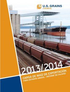 Informe de la Calidad de la Carga de Exportación 2013-2014
