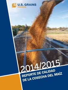 Informe de la Calidad de la Cosecha de Maíz 2014/2015