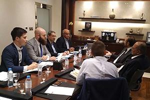 Discussions in Dubai