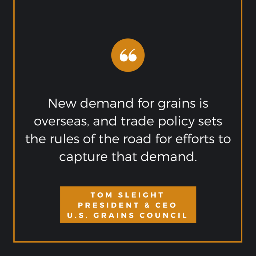 trade policy quote