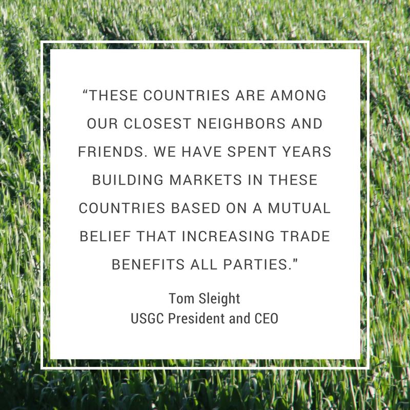 USGC Quote on Mexico, Canada, EU Tariffs