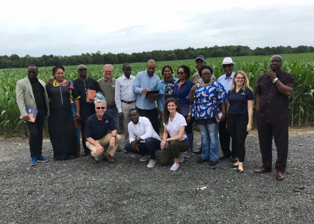 The trade team visit to Washington, D.C., Maryland and Missouri in June 2018 was organized by the Council with support from the U.S. Department of Agriculture (USDA), CropLife International and Monsanto. Team members included 10 delegates from the national Nigerian governing body, regulatory agencies, biosafety experts and Monsanto-Africa.