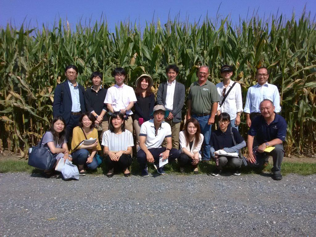 Japanese Biotech Team at Chip's Farm