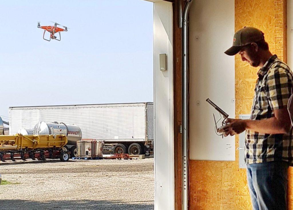 Taiwan Grain Quality Survey Team - Drone