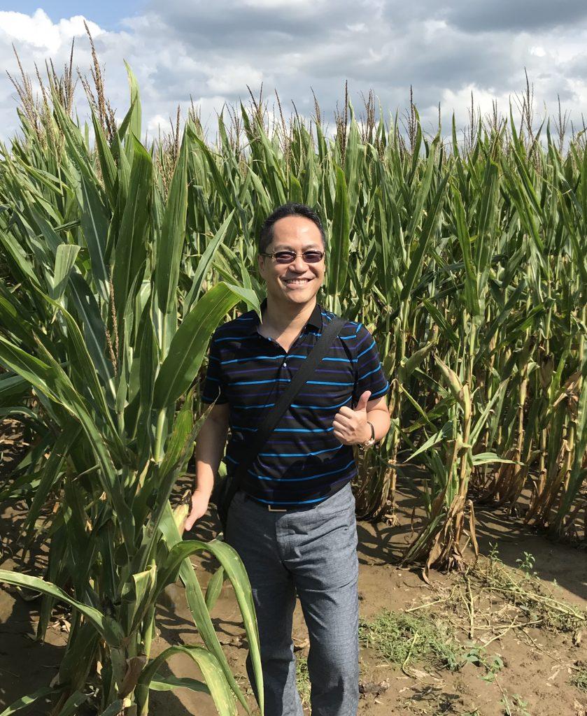 Taiwan Grain Quality Survey Team - Michael Lu first trade team