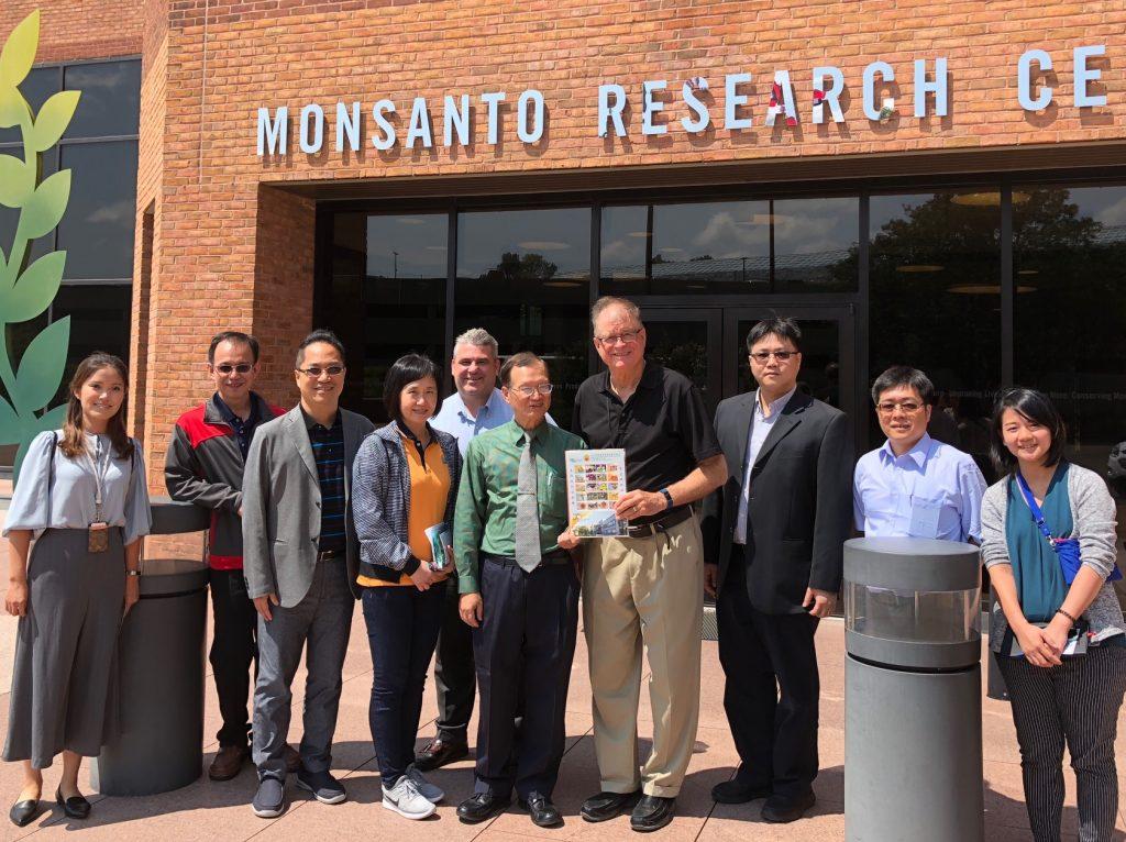 Taiwan Grain Quality Survey Team - Monsanto