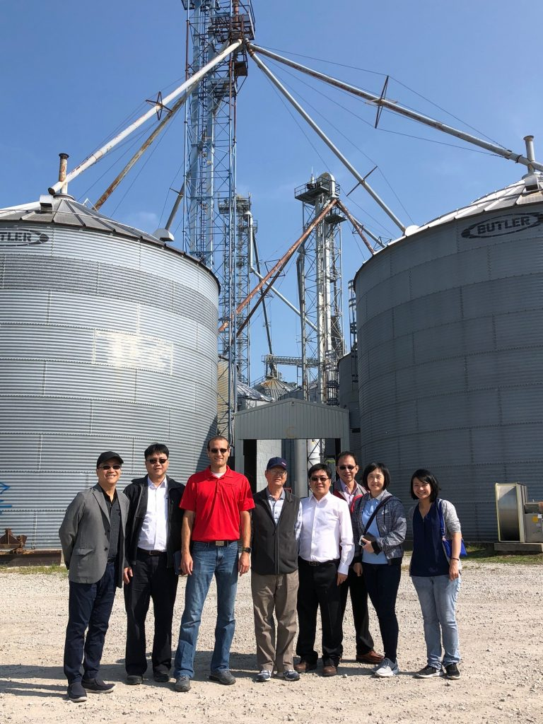 Taiwan Grain Quality Survey Team - on-farm storage