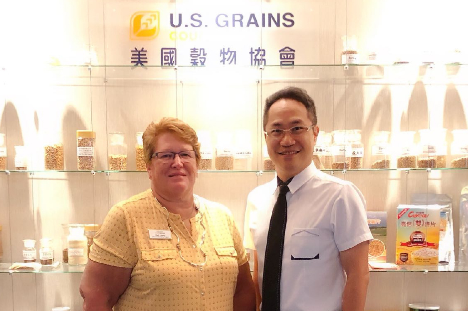 Gail Lierer and Michael Lu