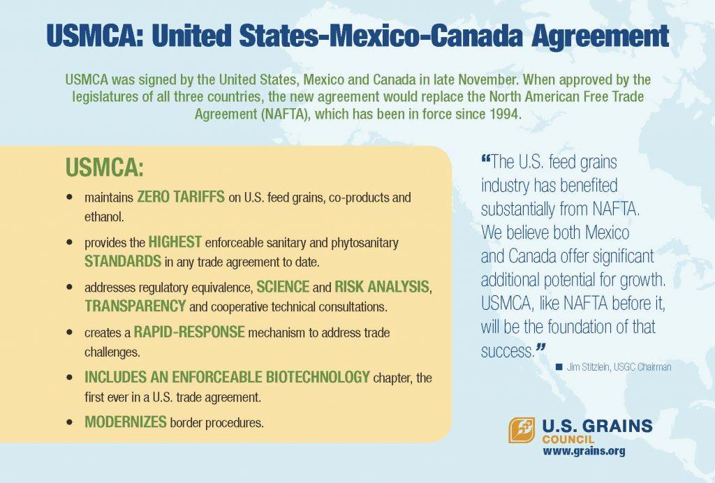 USGC NAFTA USMCA Postcard 6x9 FINAL BACK 01 09 19