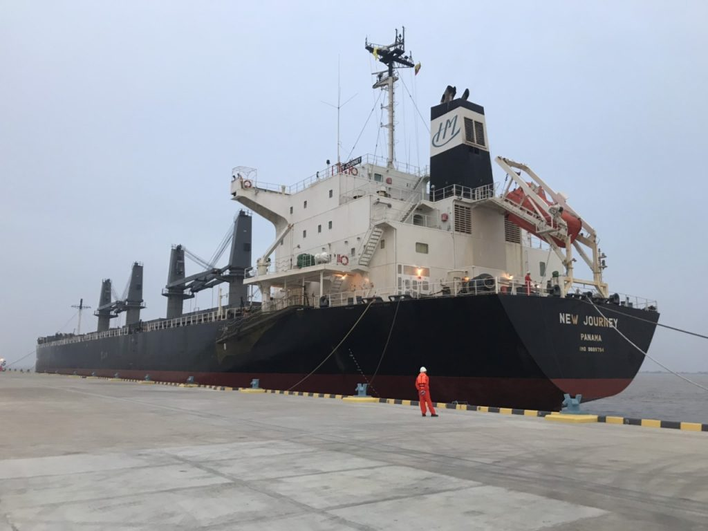 First US Wheat Vessel to Myanmar