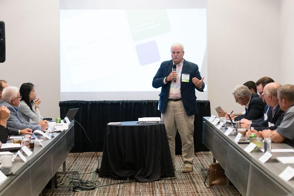 Tom Sleight speaking