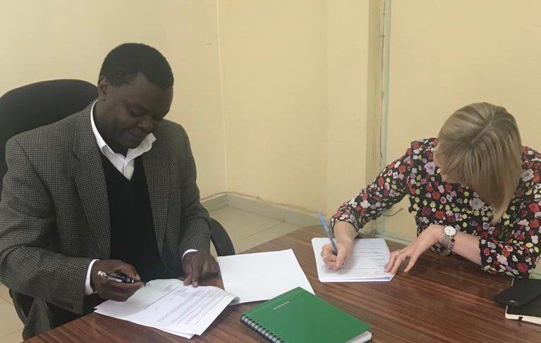 Kenya MOU signing