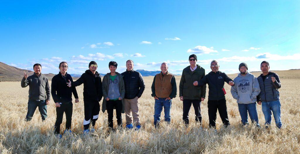 Chinese Malt Barley Team to Idaho