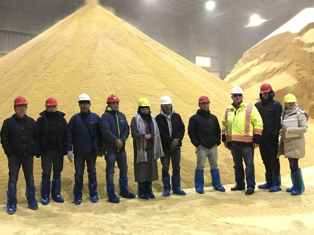 2019_11_Peru DDGS Team to Minnesota