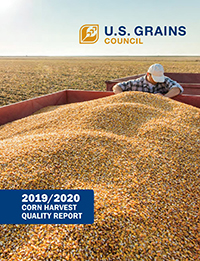 2019-2020 Corn Harvest Qualtiy Report - Cover
