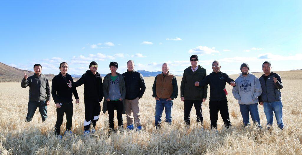 Chinese Malt Barley Team to Idaho 2019
