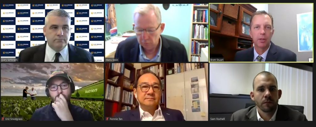 Online Conference Between Six People