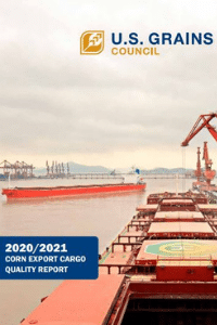 2020/2021 Corn Export Cargo Quality Report Cover