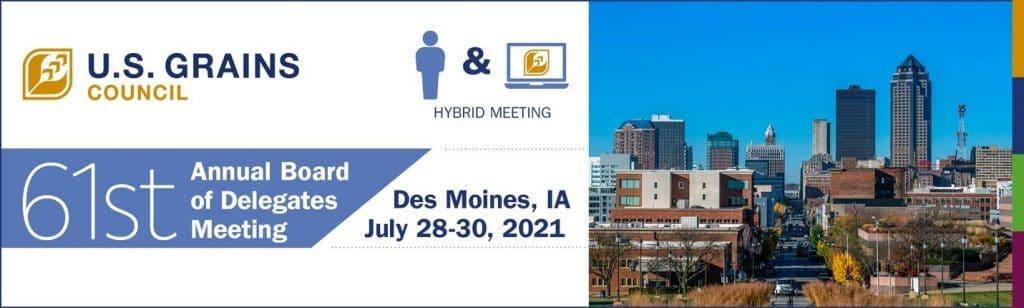 City Next to U.S. Grains Council Meeting Slide