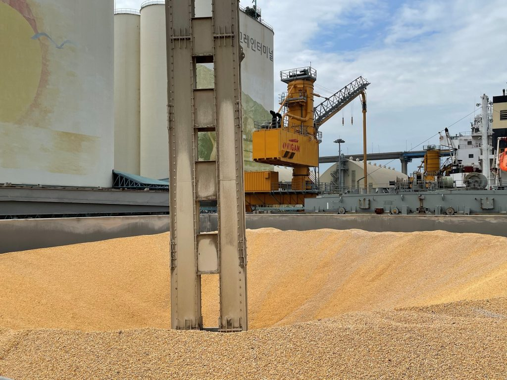 Corn Mill in South Korea